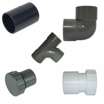 ABS Solvent Weld Waste Pipe & Fittings