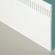 Deeplas Vented Flat Soffit Boards (Flat Plank) 9mm Thick