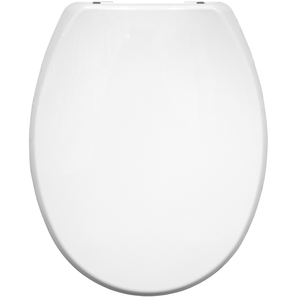 Carrara & Matta Atlantic Spa Universal WC Seat Thermoplastic - White - 108052000