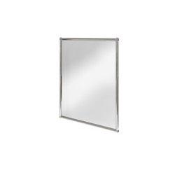 Burlington A11 Rectangular Mirror 500mm x 700mm x 28mm - Chrome Finish