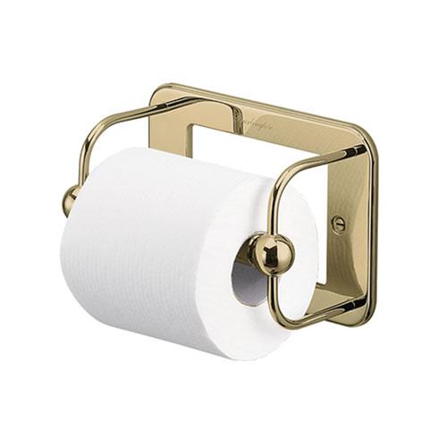 Burlington A5GOLD WC Toilet Roll Holder - Gold
