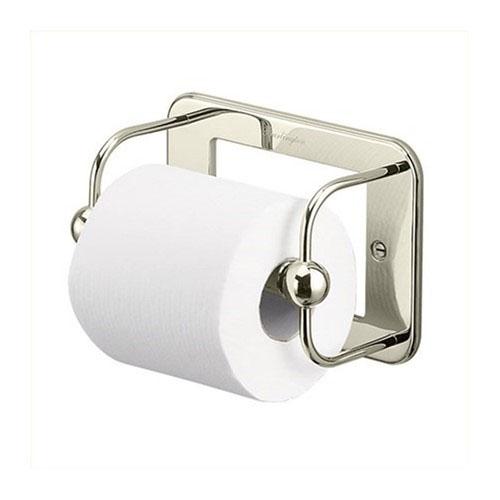 Burlington A5NKL WC Toilet Roll Holder - Nickel