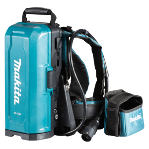 Makita PDC01 18V / Twin Portable Power Supply Backpack - Body Only