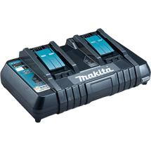 MAKITA DC18RD/2 14.4V-18V TWIN-PORT FAST CHARGER - 240V