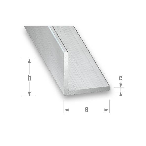 RAW ALUMINIUM EQUAL CORNER RAW 30x30x1.5mm 2mtr