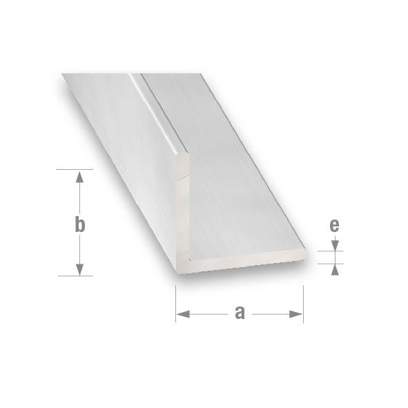 ANODISED ALUMINIUM EQUAL CORNER 20x20x1.5mm 1mtr