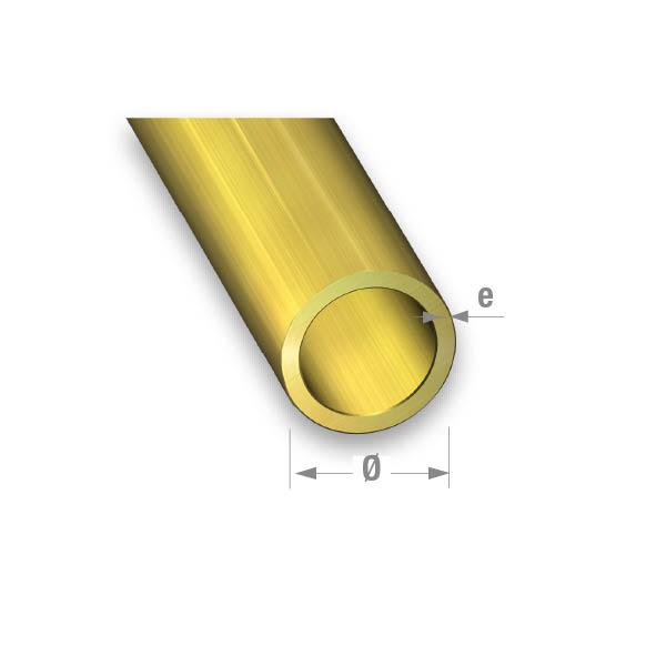 BRASS ROUND TUBE 6mm Diameter X 1Mtr
