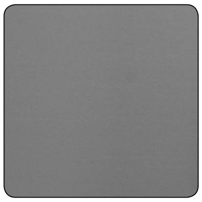 RAW STEEL SMOOTH INSULATION PANEL 500x500x0.6mm