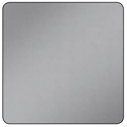 RAW ALUMINIUM SMOOTH PANEL 500x500x0.5mm