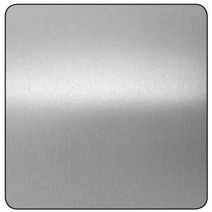 SHINY AND SMOOTH RAW ALUMINIUM PANEL 1000x500x0.5mm
