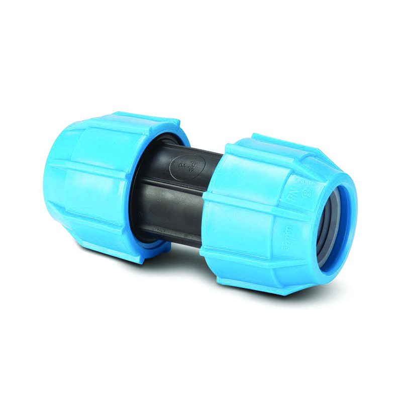 POLYPIPE MDPE 20MM STRAIGHT COUPLER POLYFAST