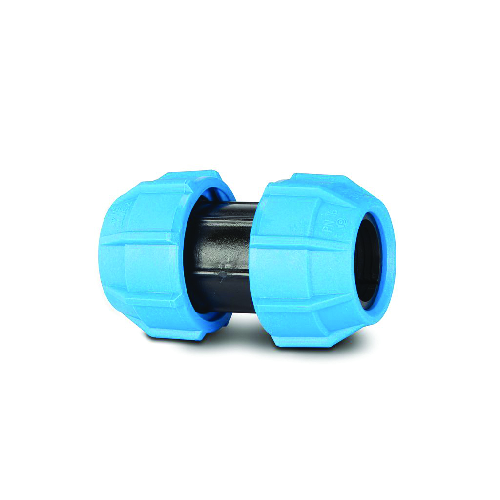 POLYPIPE MDPE 20MM SLIP / REPAIR COUPLER POLYFAST