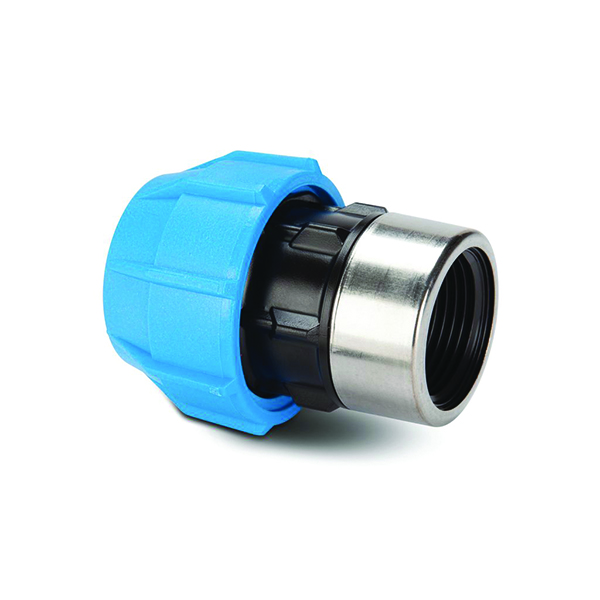 "POLYPIPE 20MM X 1/2"" BSP POLYFAST FEMALE ADAPTOR - MDPE"