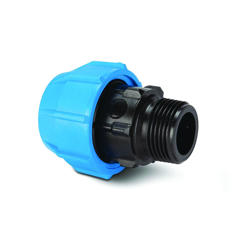 Polypipe Polyfast MDPE Male Adaptor Straight - 20mm x 1/2in BSP