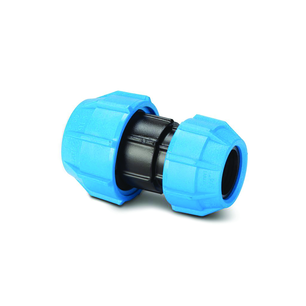 POLYPIPE 25MM X 20MM REDUCING COUPLER POLYFAST MDPE
