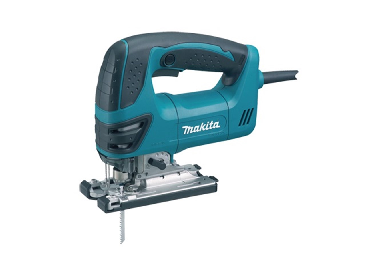 Makita 4350FCT 110V Orbital Action Jigsaw & Light 720W - Quick Release Tool-Less Blade Change