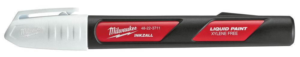 MILWAUKEE INKZALL LIQUID PAINT MARKER PEN WHITE - 48223711