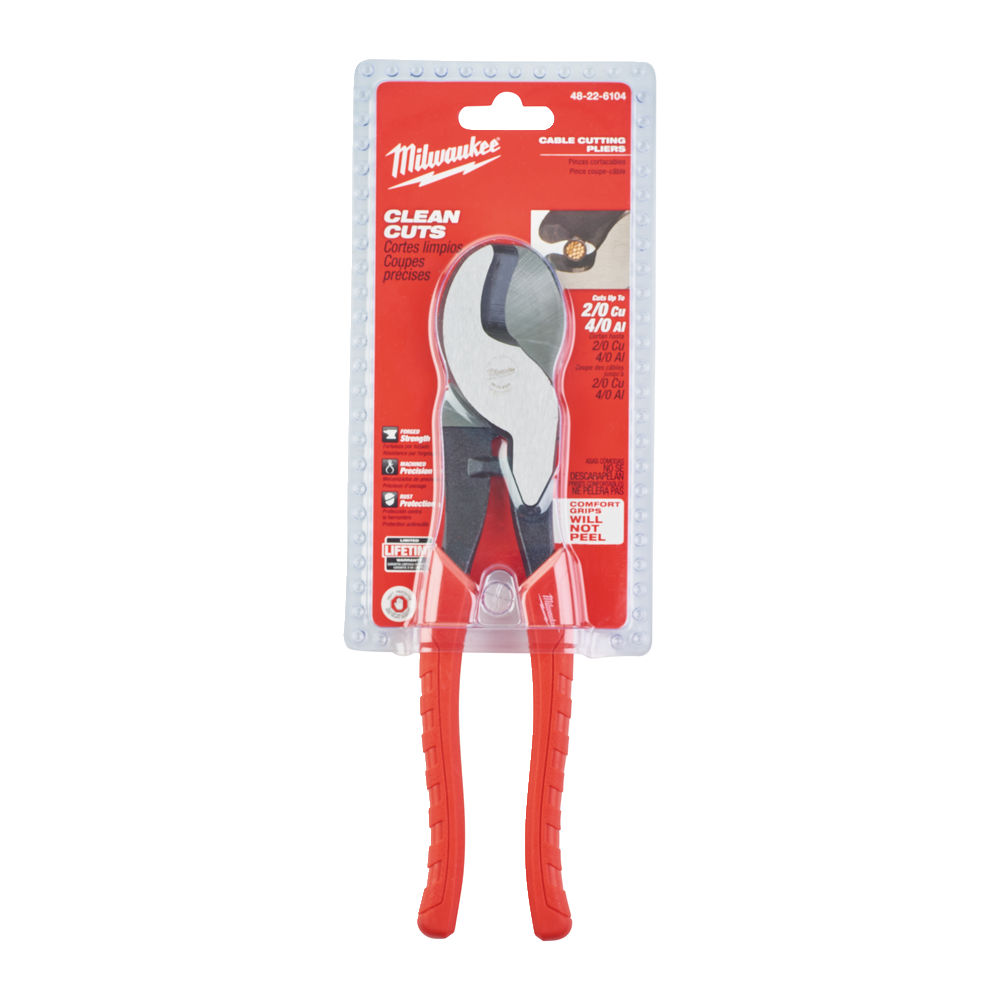MILWAUKEE CABLE CUTTING PLIERS - 48226104