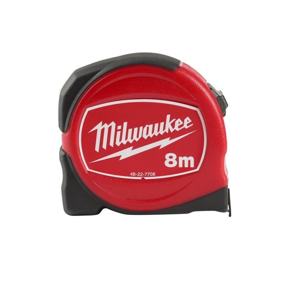 MILWAUKEE SLIMLINE TAPE MEASURE METRIC 8M - 48227708