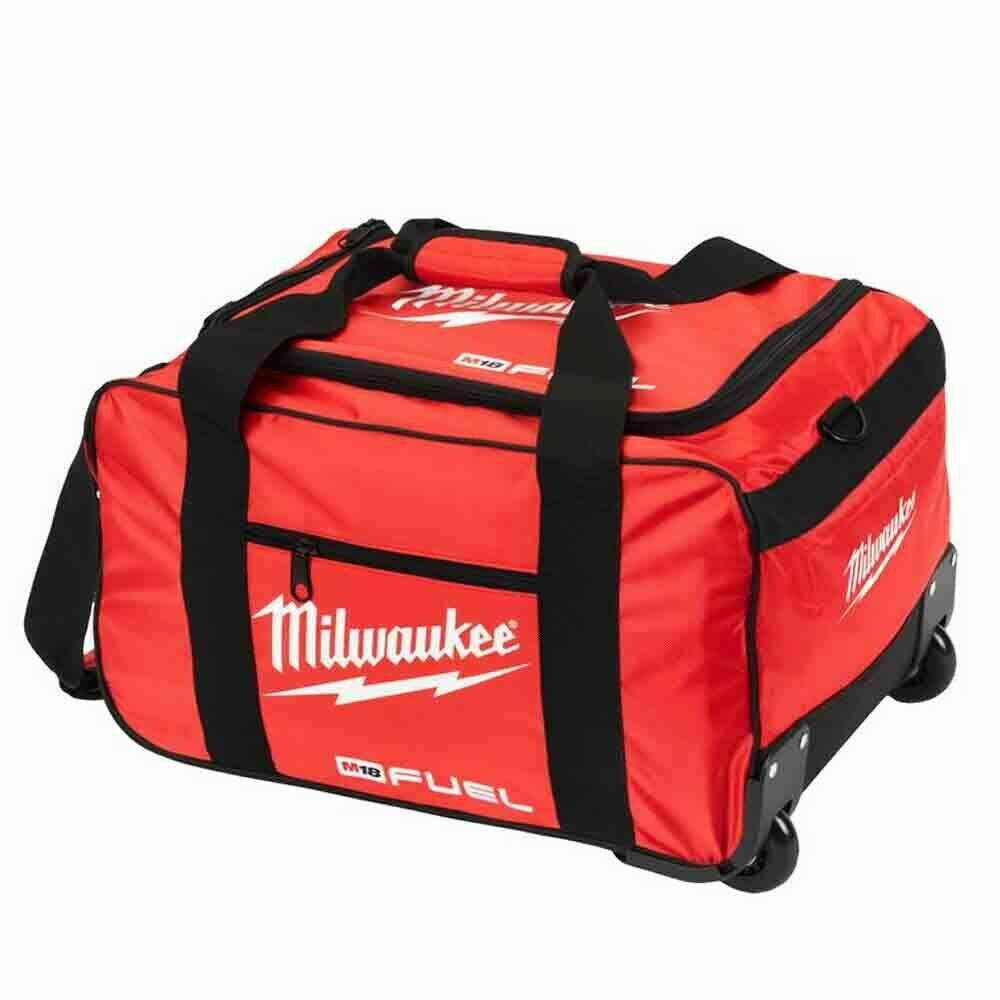 """MILWAUKEE SOFT CANVUS LARGE TOOL BAG & WHEELS 20"""" - 4933459429"""