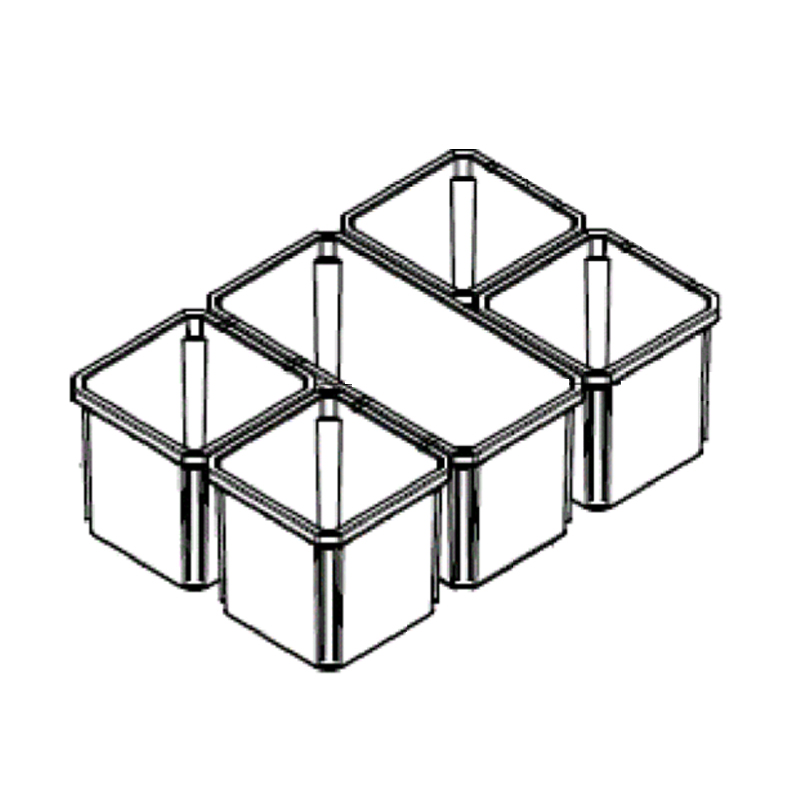 MILWAUKEE PACKOUT - SPARE PART - ORGANISER INSERT BOXES - 4931466513
