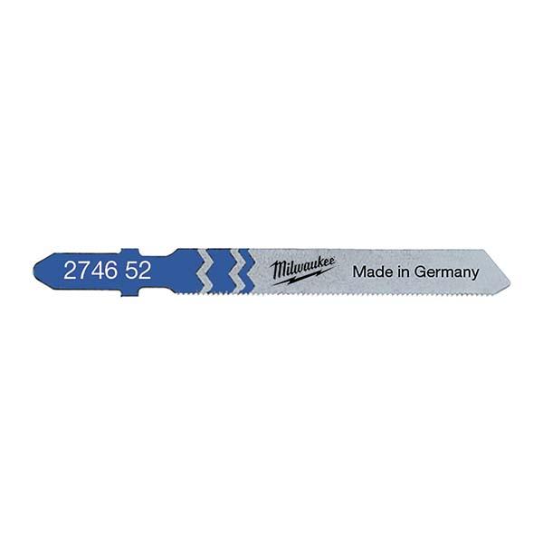 Milwaukee Jigsaw Blade 55 x 0.7mm T118G (Pack of 5) - 4932274652