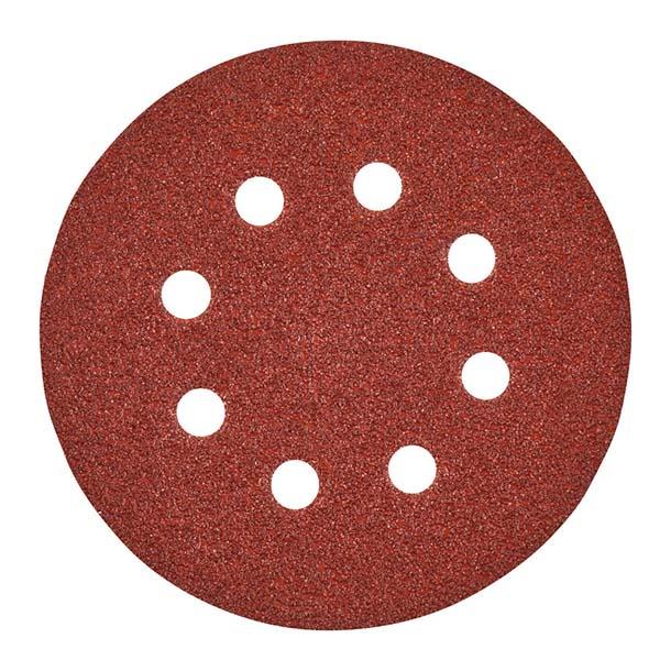 Milwaukee 125mm Sanding Discs 40G - Pk 5