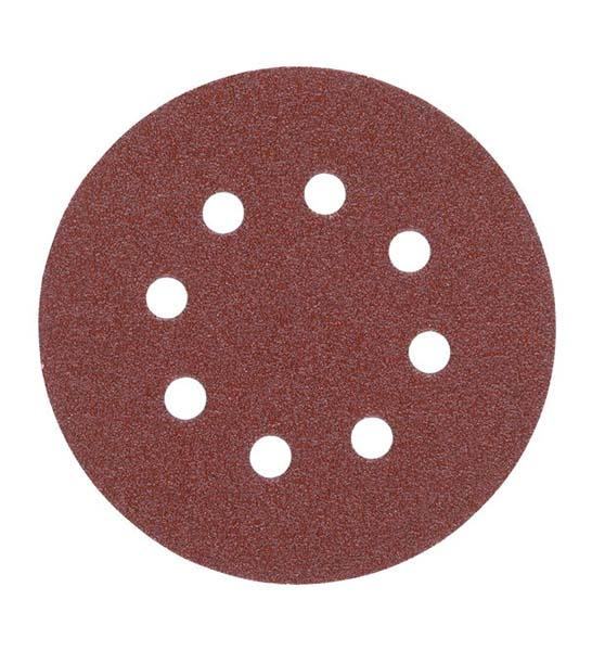 Milwaukee 125mm Sanding Discs 60G - Pk 5
