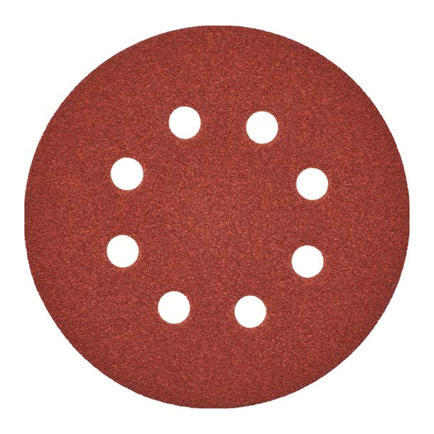 Milwaukee 125mm Sanding Discs 80G - Pk 5
