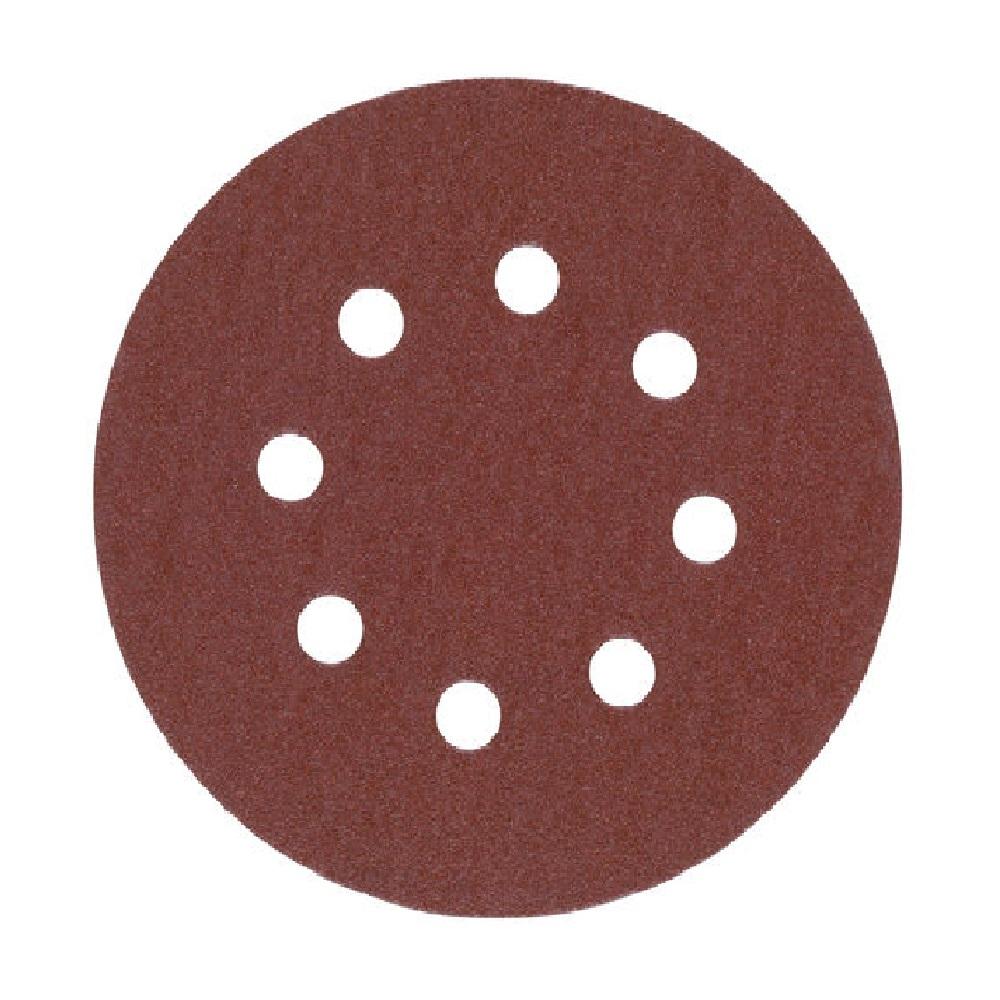 Milwaukee 125mm Sanding Discs 120G - Pk 5