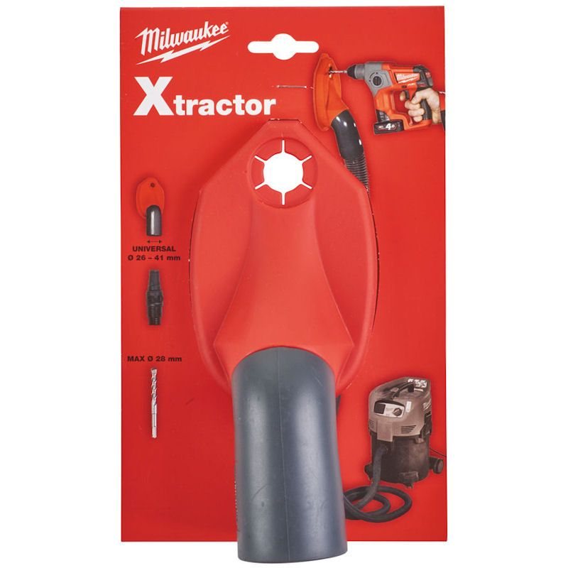 Milwaukee Xtractor Dust Extractor for SDS Hammers & Combi - 4932430446