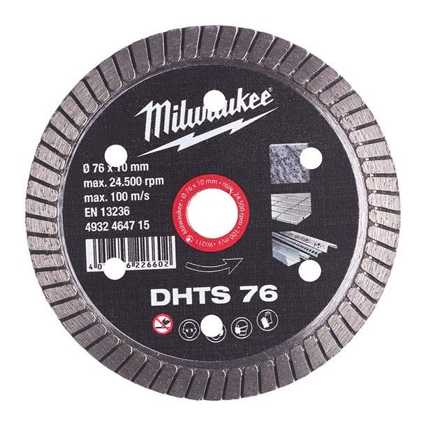 Milwaukee 76mm Cut-Off Tool Diamond Blade - M12FCOT - 4932464715