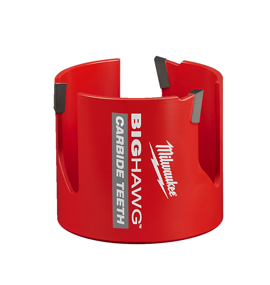 MILWAUKEE MULTI MATERIAL CARBIDE BIG HAWG HOLESAW - 82MM - 4932464932
