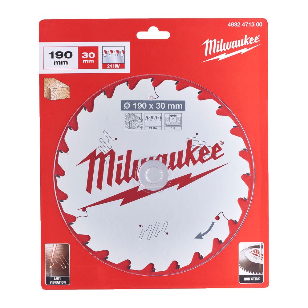 MILWAUKEE CIRCULAR SAW BLADE 184MM X 30 X 24TH - 4932471297