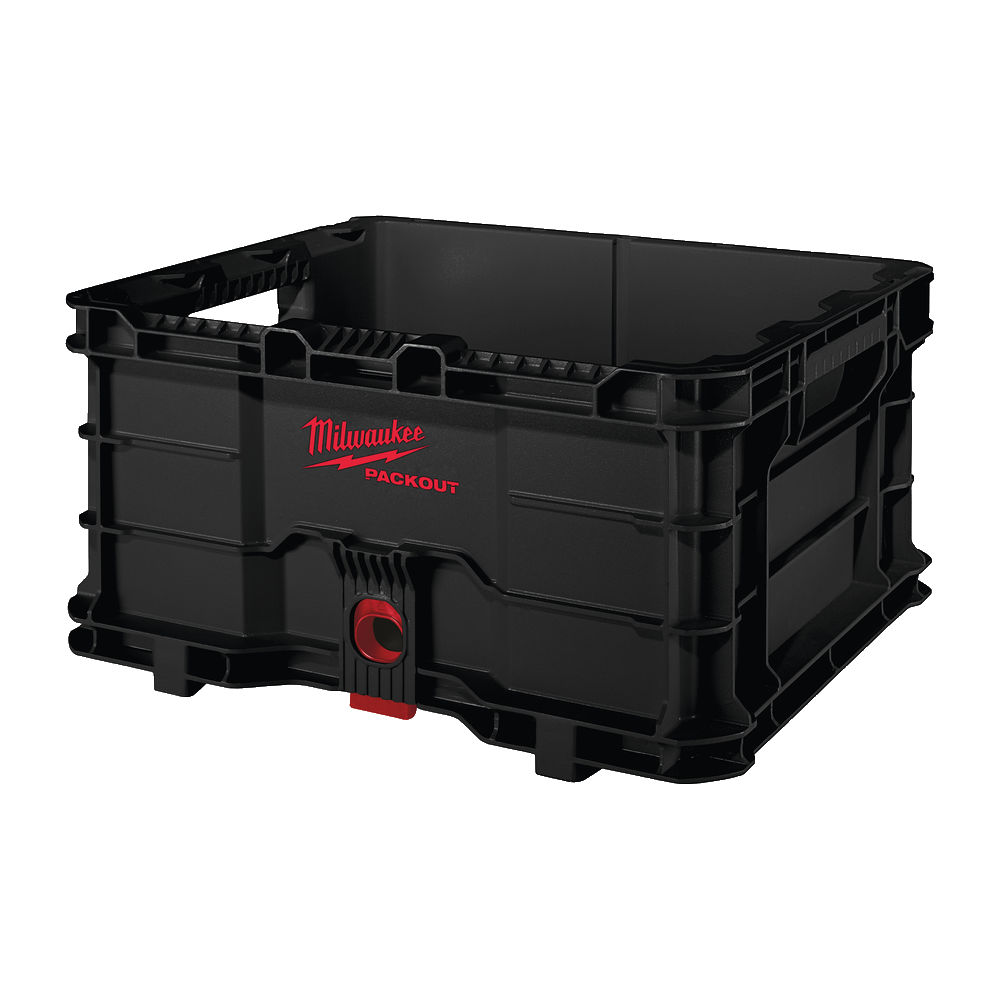 MILWAUKEE PACKOUT - LARGE STACKABLE CRATE - 4932471724