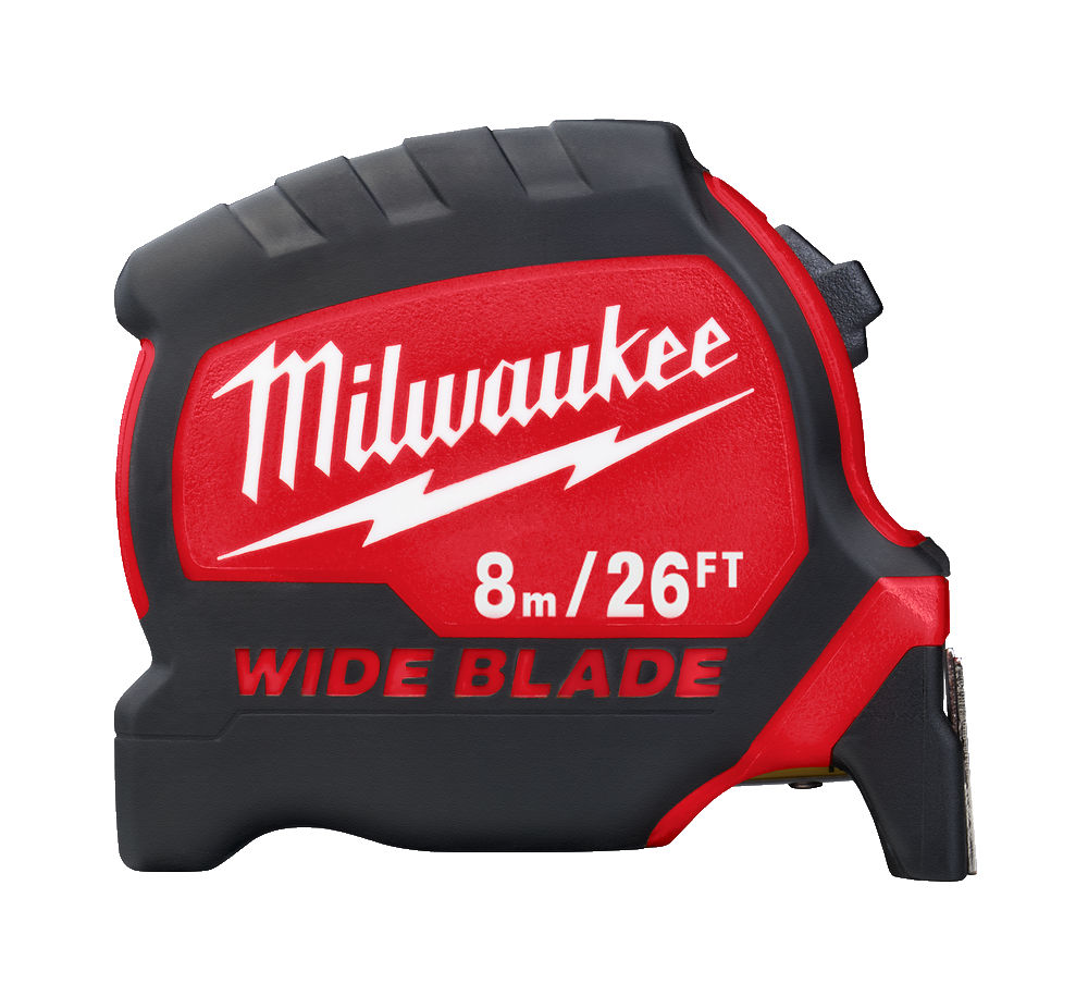 Milwaukee Premium Wide Blade - 8m/26ft Metric/Imperial - 4932471818