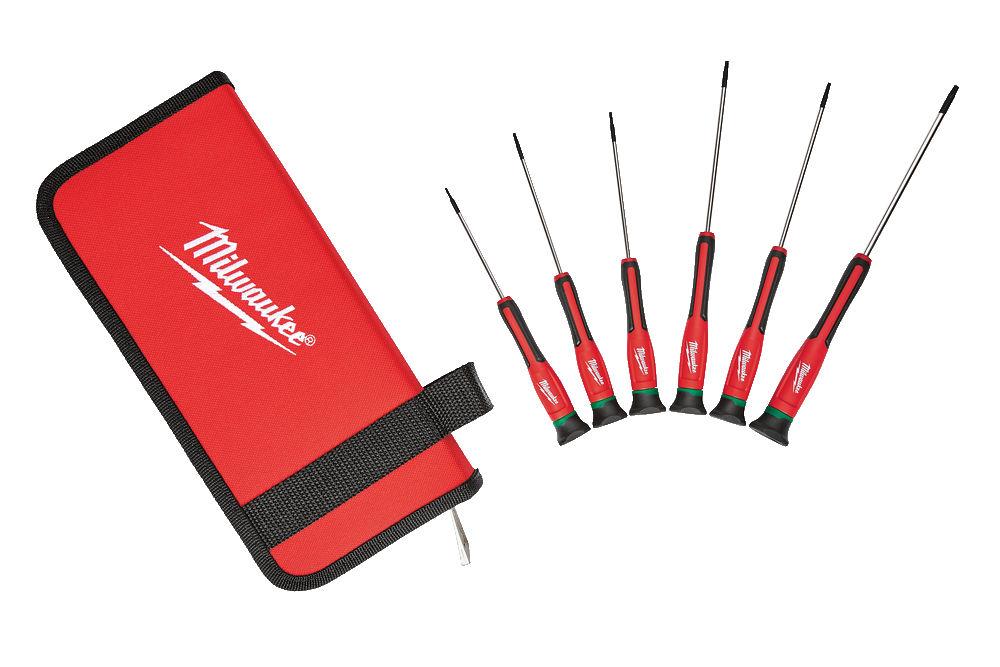 Milwaukee 6pc Torx Precision Screwdriver Set - 4932471870