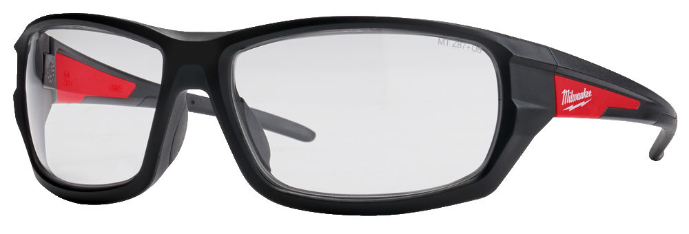 Milwaukee Performance Safety Glasses - Clear - 4932471883