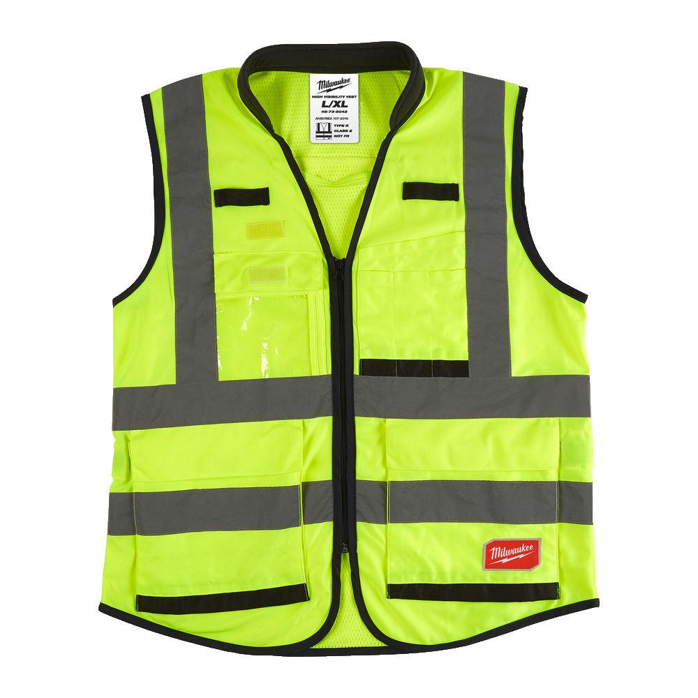 Milwaukee Premium Hi-Visibility Vest - Yellow - L/XL - 4932471896