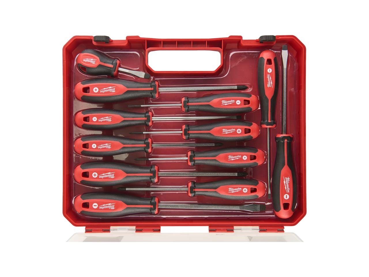 Milwaukee 12pc Tri-Lobe Screwdriver Set - 4932472003