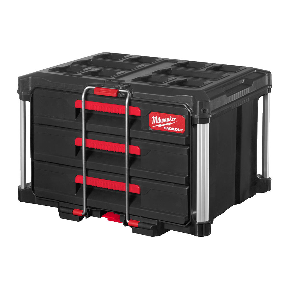 MILWAUKEE PACKOUT - PACKOUT 3 DRAWER BOX - 4932472130