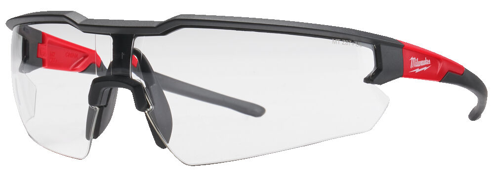 Milwaukee Enhanced Safety Glasses - Clear - 4932478763