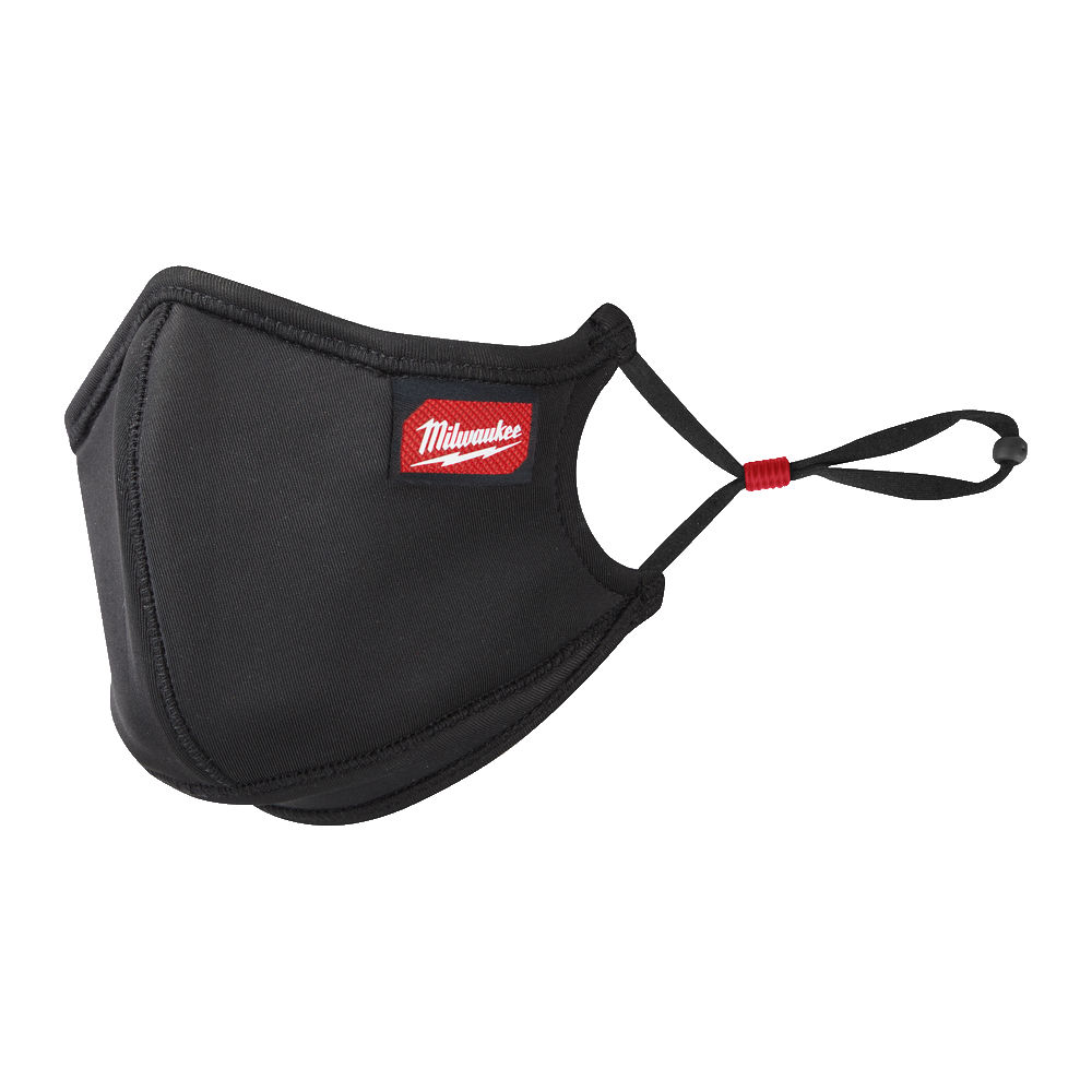 Milwaukee All Day Comfort Better Fit Face Covering - S/M - PK 3