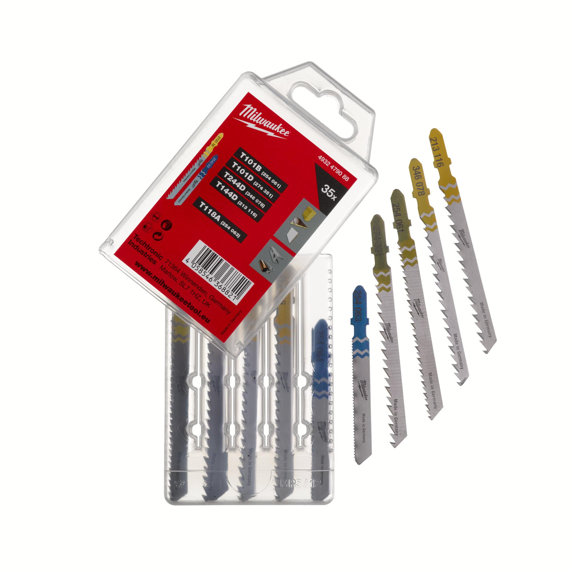 Milwaukee Jigsaw Blade Set - 33pc - 4932479088
