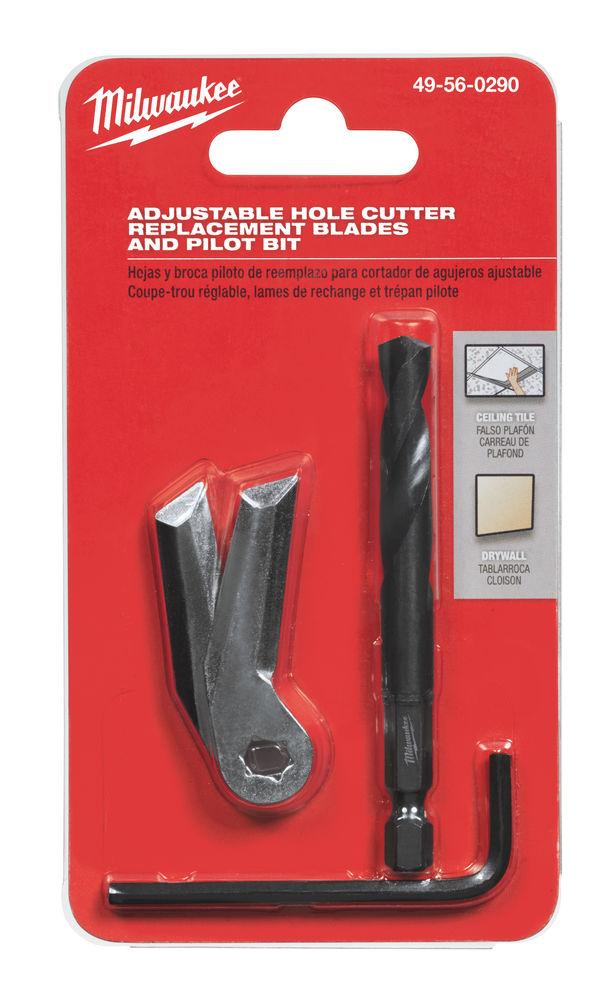 MILWAUKEE ADJUSTABLE HOLE CUTTER REPLACMENT BLADES - 49560290