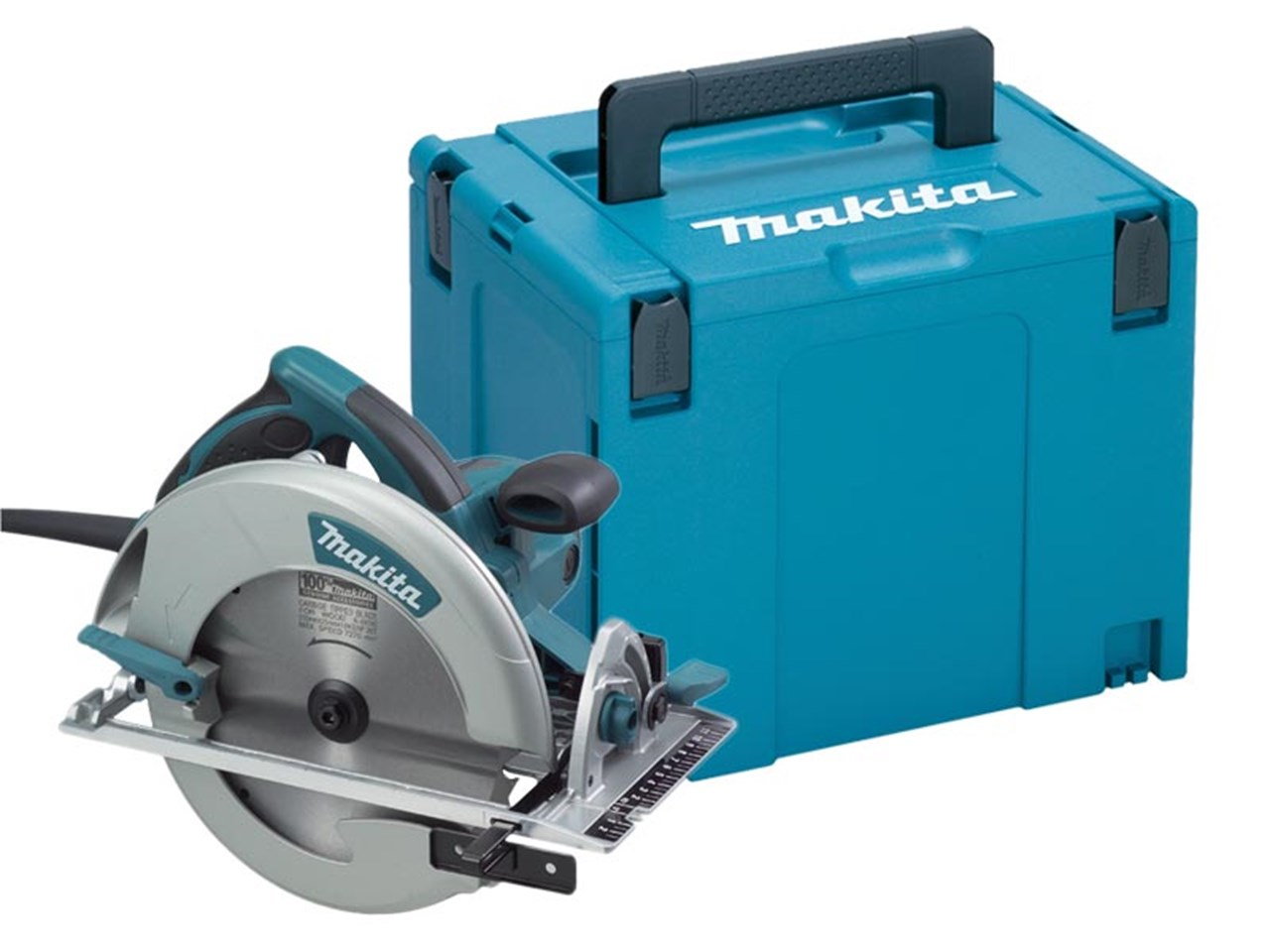"Makita 5008MGAJ 110V 210mm Circular Saw - Cutting Depth of 75.5mm (3"")"