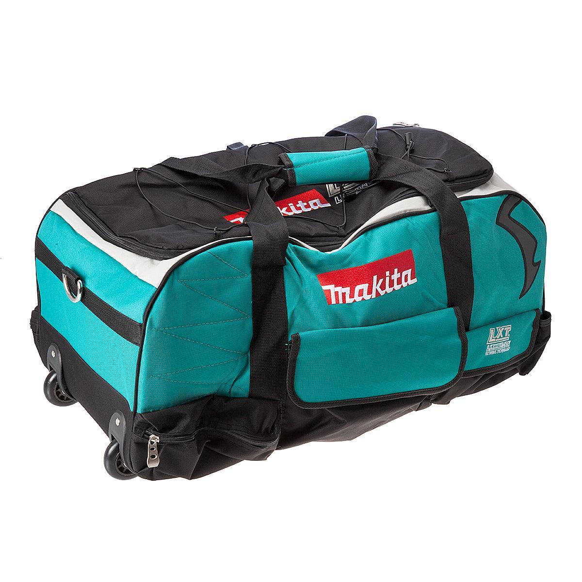 Makita LXT600 Heavy Duty Tool Bag with Wheels - 831279-0