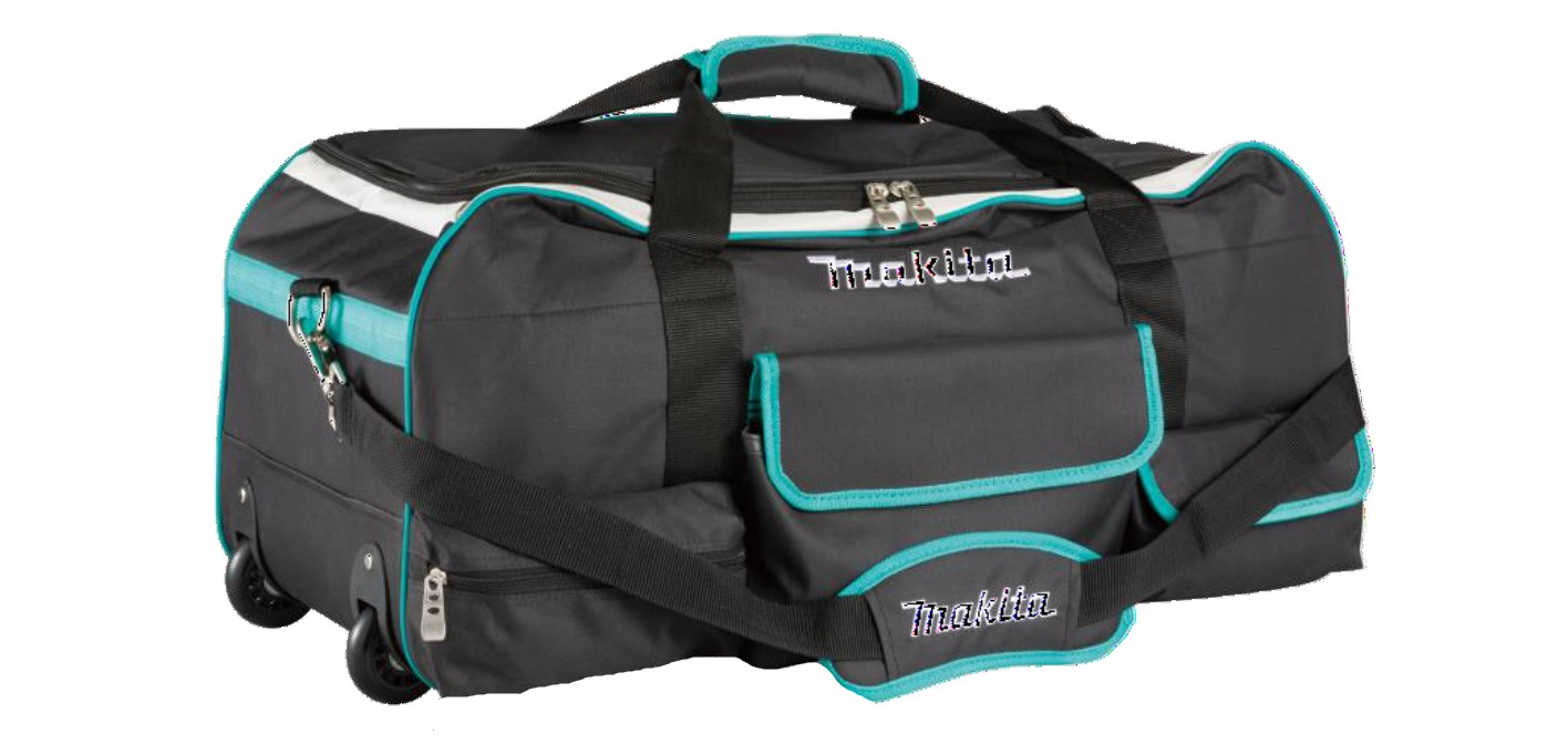 Makita TH3 29in Ultimate Wheeled Bag & Shoulder Strap - 700mm x 310mm x 320mm