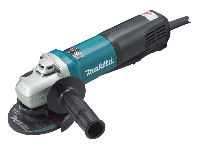 MAKITA 1100W HEAVY-DUTY 115MM ANGLE GRINDER - 9564PZ - 240V