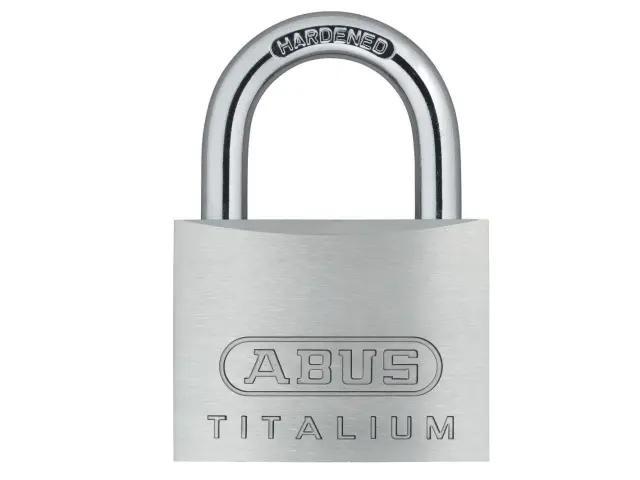 ABUS 54TI/50 TITALIUM PADLOCK 50MM - 564475